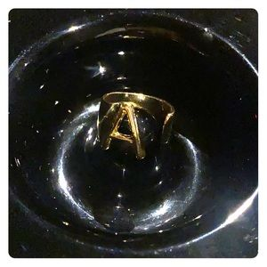 "Jewelry - Initial ""A"" ring"